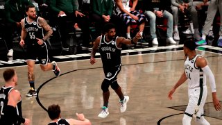 Kyrie Irving de los Brooklyn Nets
