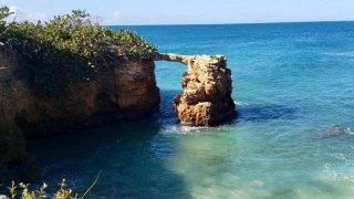 Puente de Piedra, en Cabo Rojo.