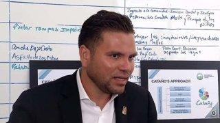 El alcalde de Cataño, Félix Delgado