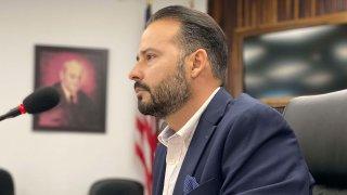 El presidente de la Asociación de Alcaldes de Puerto Rico, Luis Javier Hernández