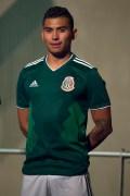 [FIFA2018] Se dio a conocer la nueva armadura de la Selección Mexicana desde el Monumento a la Revolución en la Ciudad de México. Aquí los detalles. Foto: Mexsport
