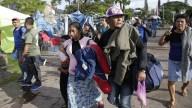 Sale de El Salvador otra caravana migrante rumbo a EEUU