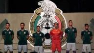 [FIFA2018] Se dio a conocer la nueva armadura de la Selección Mexicana desde el Monumento a la Revolución en la Ciudad de México. Mira aquí los detalles. Foto: imago7