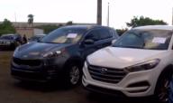 Expertos robando carros: los prenden en menos de un minuto