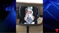 Una madre grabó a su pequeño de pocos meses cuando pasaban por la máquina de lavado de autos por primera vez. Mira lo que pasó....