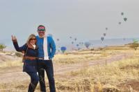 La pareja viajó a Dubái y a Turquía.