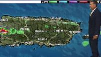 Se pronostican también lluvias para el oeste de Puerto Rico.