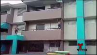 La agencia tomará medidas con familias de niños del residencial Virgilio Dávila que se lanzaron desde el balcón de un segundo piso hacia una piscina.