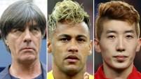 Tanto jugadores como técnicos tienen lo suyo en términos de estilo y cabellera. Te mostramos los que llaman la atención.