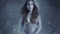 """""""Prefiero estar desnuda que vestir pieles"""", dice la publicidad."""