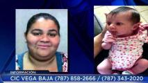 Reportan a bebé desaparecida de residencial en Naranjito