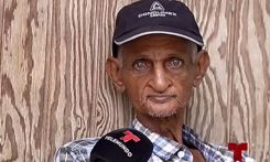 Anciano, solo y sin ayudas