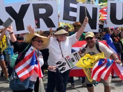 Paro Nacional: miles piden renuncia de Ricardo Rosselló