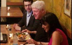 Bill Clinton de chinchorreo por Guavate