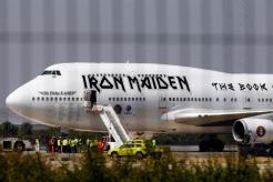 Se accidenta avión de Iron Maiden en Chile
