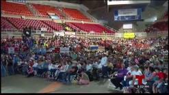 Celebran asamblea de pueblo contra Junta de Control Fiscal