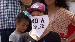 Grupos ambientales protestan frente al Capitolio