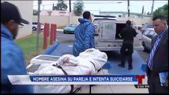 Hombre asesina a su pareja y luego intenta suicidarse