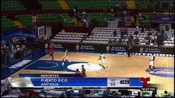 Puerto Rico destruye a Antigua en el Centrobasket