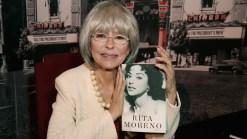 Rita Moreno sorprende con discurso a ritmo de rap