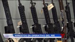 NIE diligencia 33 órdenes de arresto por tráfico ilegal de armas