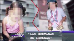 Hermanas de Lorenzo pagan caro error de muchos adultos
