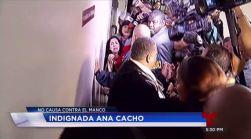 Ana Cacho rompe en llanto tras decisión del juez