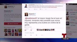 Luis Fortuño arremete contra el Gobernador