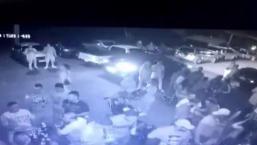 Captan en cámara balacera en los kioskos de Luquillo