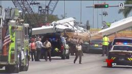 Confirman identidades de víctimas en puente de Florida
