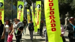 Protestas en México contra Trump