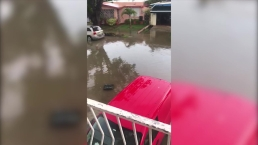 Inundaciones en Villa Nevárez