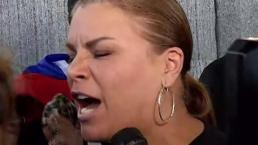 Olga Tañón batallará hasta que renuncie Rosselló