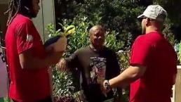 Piratas de Pittsburgh donan pavos en Cayey