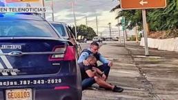 Policía relata porqué decidió orar con hombre que detuvo