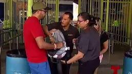 Registran bultos y carteras en las SanSe