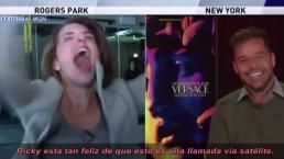 Reportera boricua se vive entrevista con Ricky Martin
