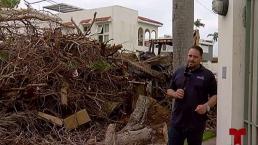 Residentes de Baldrich no aguantan más los escombros