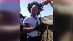 Robo y vandalismo en la frontera es captado en video