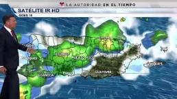 Siguen las lluvias por vaguada sobre la zona