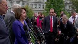 Trump insulta a Nancy Pelosi en reunión sobre Siria