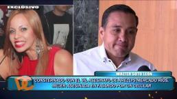 Walter Soto León no pudo contener las lágrimas al narrar encuentro con familiares de Arellys