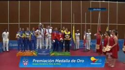 Premiación medalla de oro | Tenis de mesa femenino