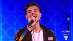 "Abraham Mateo canta ""igualito"" a Shakira"