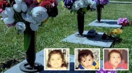 Parque Tres Ángeles: honran los tres niños decapitados por sus propios padres