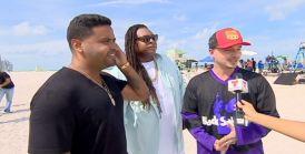 Zion y Lennox graban nuevo vídeo en playa nudista