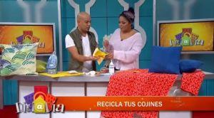 ¿Cómo reciclar tus cojines?
