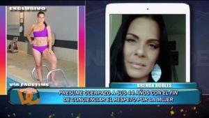 Brenda Robles presume su cuerpo a los 44 años