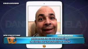 Carlos Merced espera por un donante de riñón