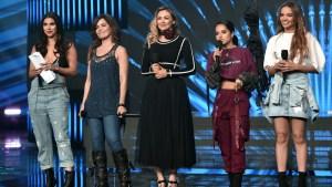 Animadoras de Latin AMAs sacan la cara por las mujeres